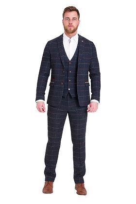 Marc Darcy Eton tweed suit