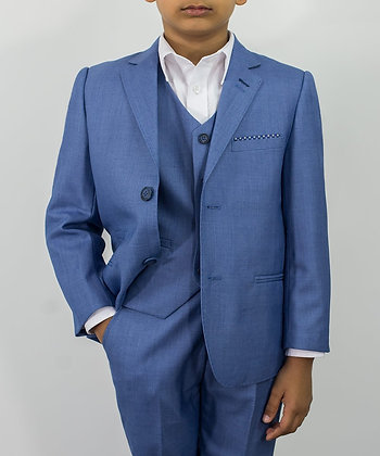 Boys Blue Jay 3 piece suit