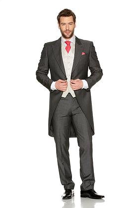 Silk Grey Tailcoat