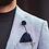 Thumbnail: Cardi sky blue check suit