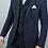 Thumbnail: Blue martez 3 piece suit