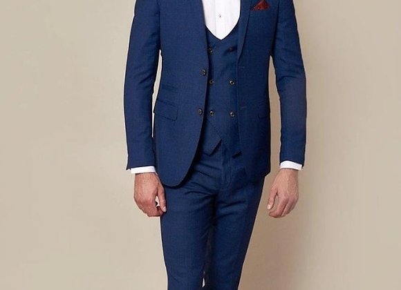 George 3 piece suit royal blue by Mar Darcy