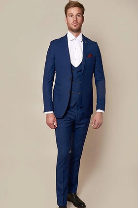 Men's Royal Blue George Suit by Marc Darcy