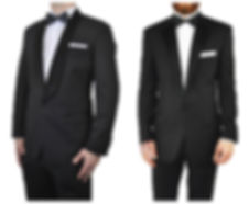 Tuxedo Suits with Bow Ties