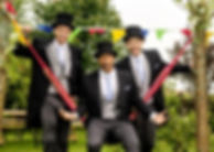 Black Tailcoats with Top Hats
