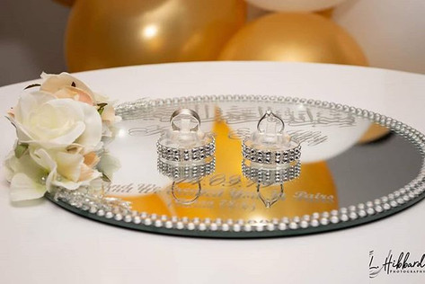 A beautiful ring giving ceremony! what a