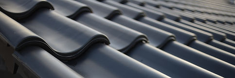 icon roof with new black roofing tiles d
