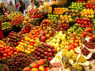 Como escolher frutas corretamente no mercado?