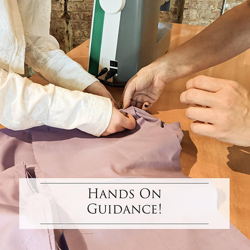 Sewing Lesson - Beginner