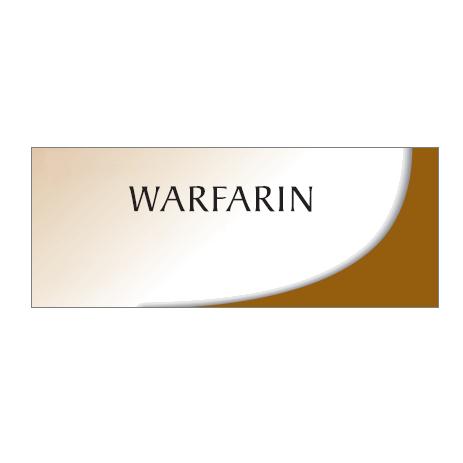 Generic Coumadin (Warfarin, 5mg) x10