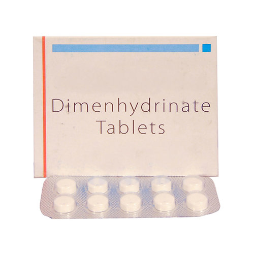 Generic Dramamine (Dimenhydrinate, 50mg) x 10