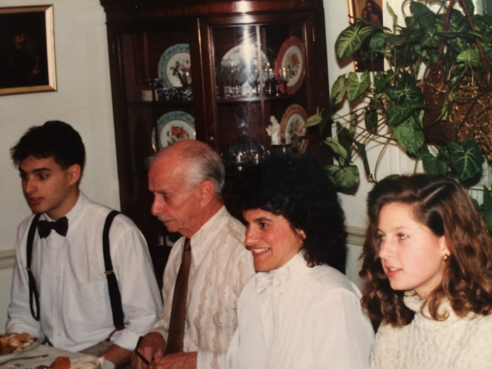 Images of cherished family Thanksgivings over the years.
