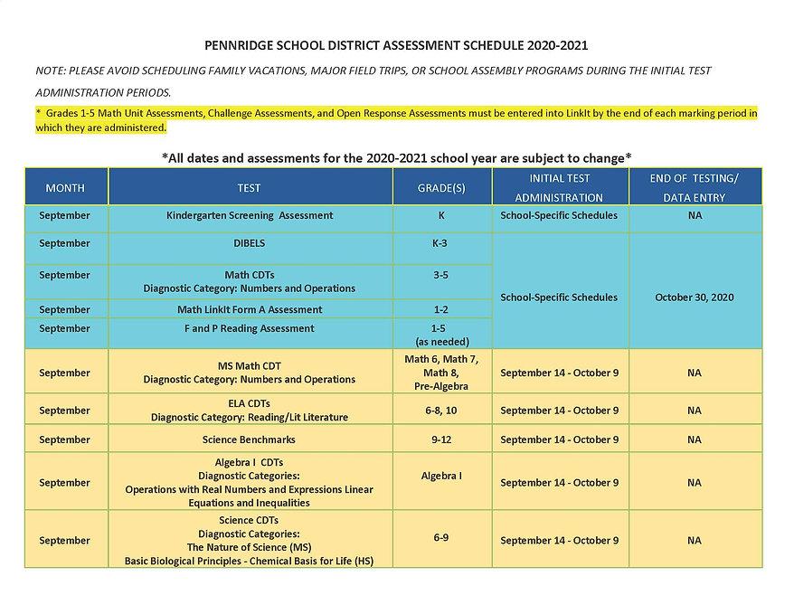 2020-21 Professional Learning Calendar_P