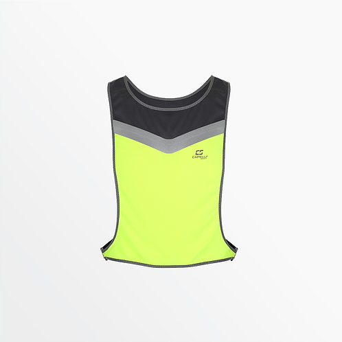 REFLECTIVE VEST WITH ADJUSTABLE WAIST BELT