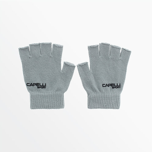 FINGERLESS YOGA GLOVES WITH EMBROIDERY