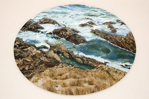 Sea Water Painting - Turbulent Water