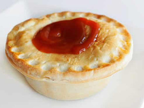 Meat pie: a great Australasian dish
