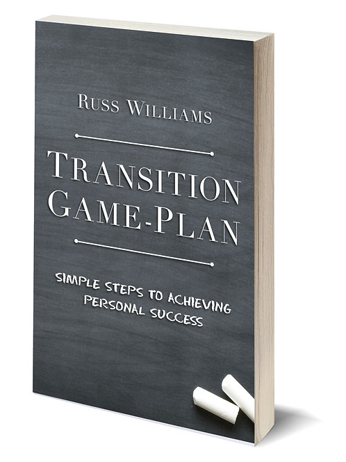 TRANSITION GAME-PLAN (SIGNED PAPERBACK)