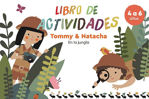 Tommy & Natacha en la jungla: Libro de actividades