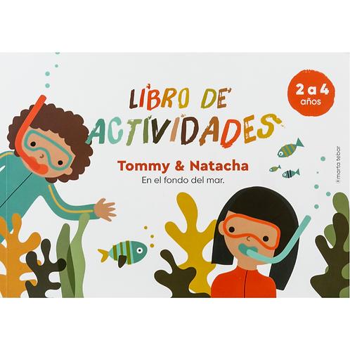 Tommy & Natacha en el mar: Libro de actividades