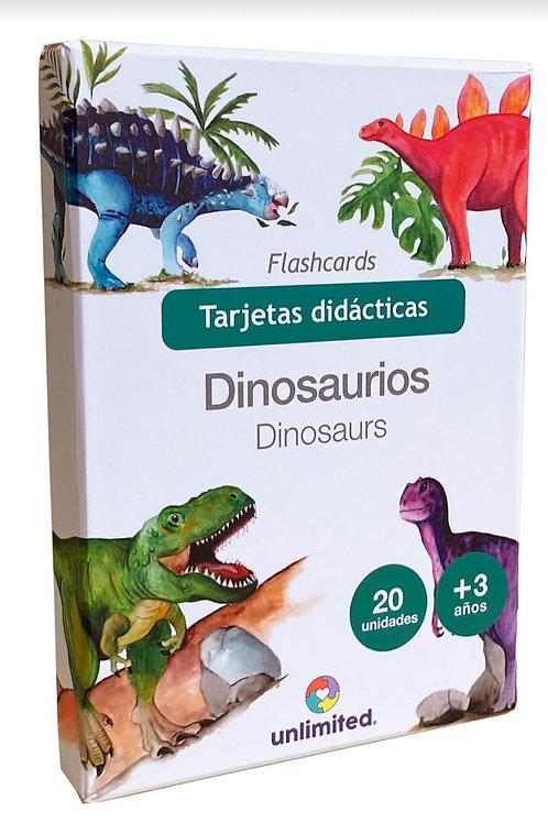 Tarjetas didácticas: Dinosaurios