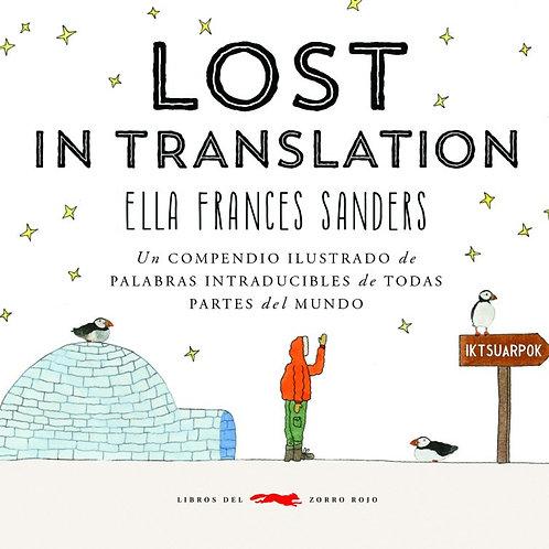 Lost in translation (Compendio ilustrado de palabras intraducibles del mundo)