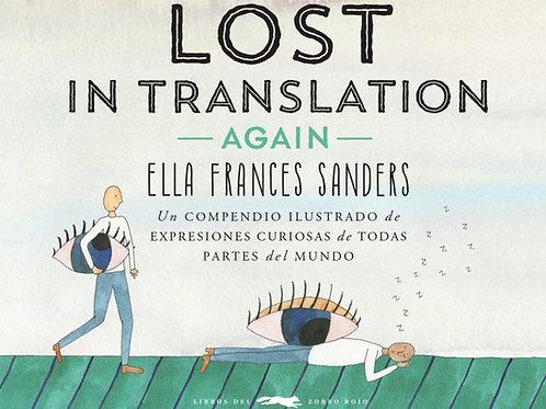 Lost in translation Again (Compendio ilustrado de expresiones intraducibles)