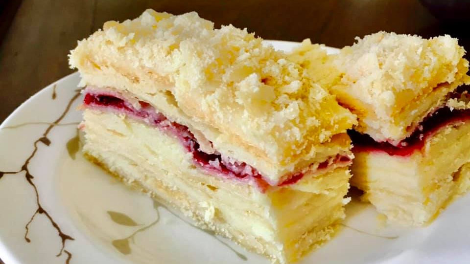 Napoleon Cake - Large (Napoleonas)