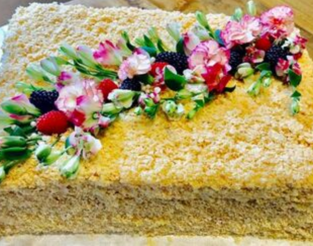 "Napoleon Cake ""Napoleonas"""