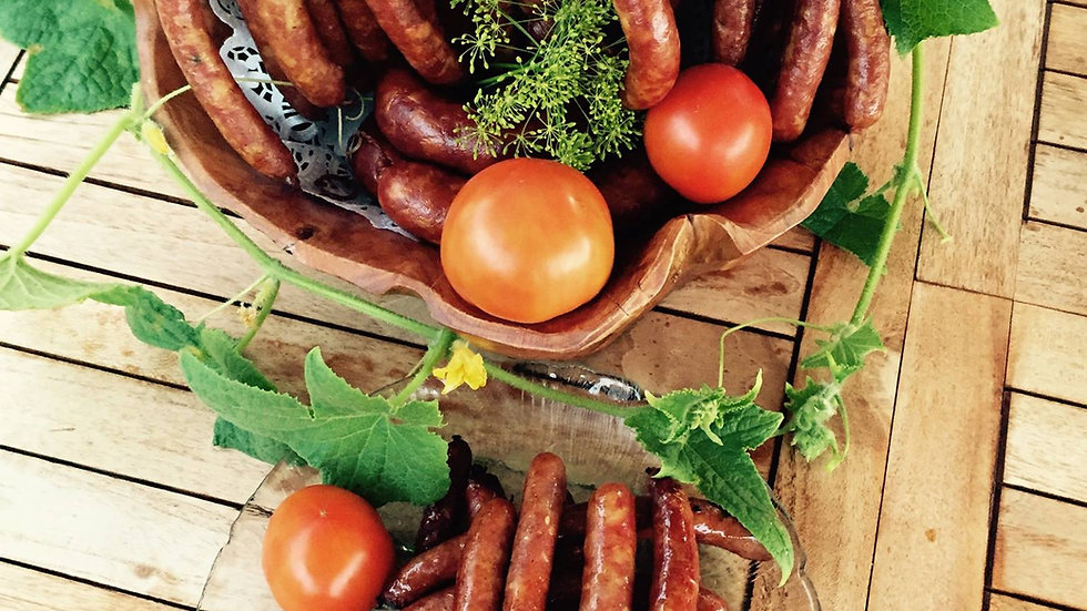 Smoked Hunter's Sausage