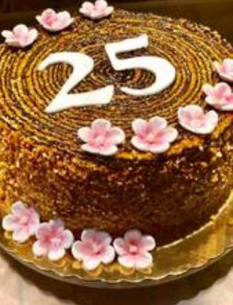 "Caramel Sugar Glazed Cake ""Griliajazinis Tortas"""