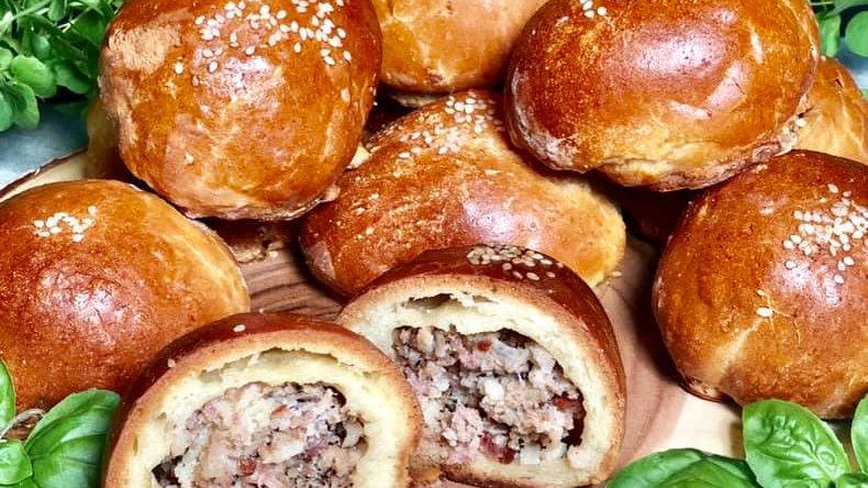 Bacon Buns (Lašiniuočiai) (Pack of 3)