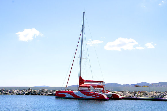Catamaran Ciao (up to 28 passengers)