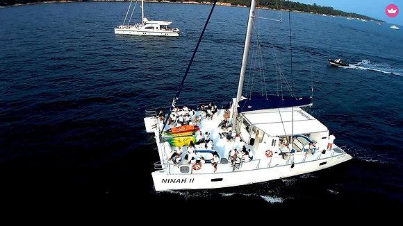 Catamaran Ninah II (up to 56 passengers)