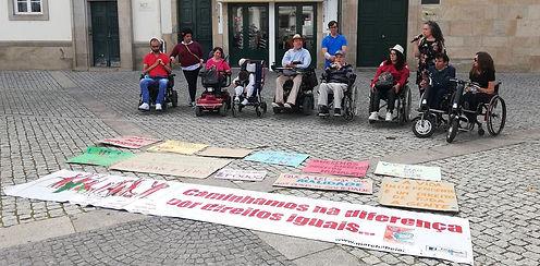 Marcha pela Vida Independente Vila Real 2019