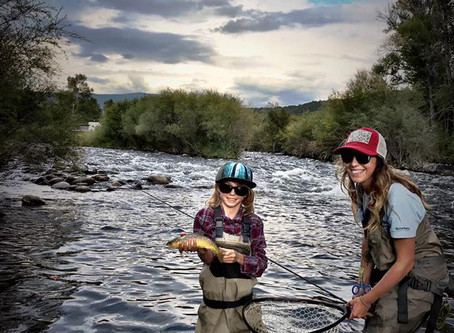 Introducing Kids To Fly Fishing