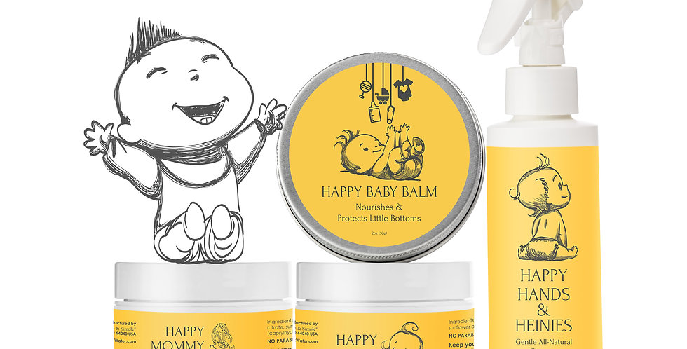 Happy Baby Package - Now with Happy Baby Butter