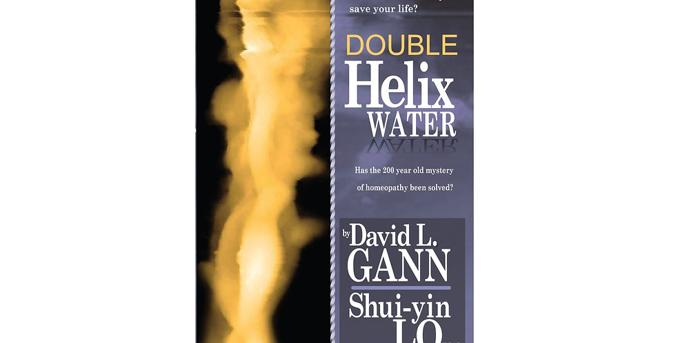 Paperback Book Double Helix Water, Has the 200 Year Old Mystery Been Solved?