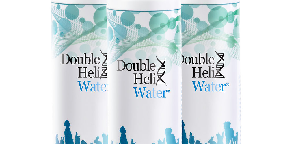 3 Pack Double Helix Water for Pets