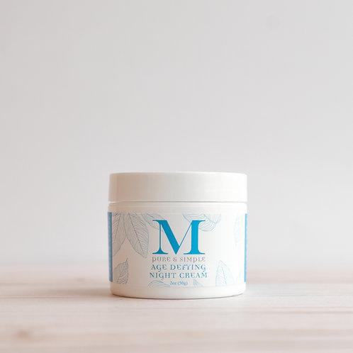 Martine: Pure & Simple Age Defying Night Cream