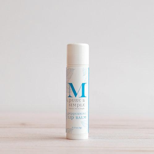 Martine: Pure & Simple Peppermint Lip balm