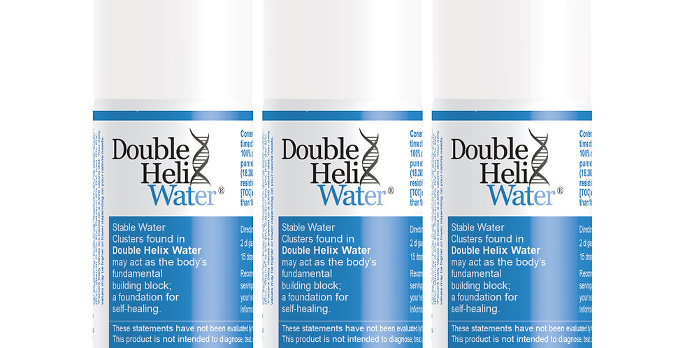 Double Helix Water 3 Pack - Save $23.85