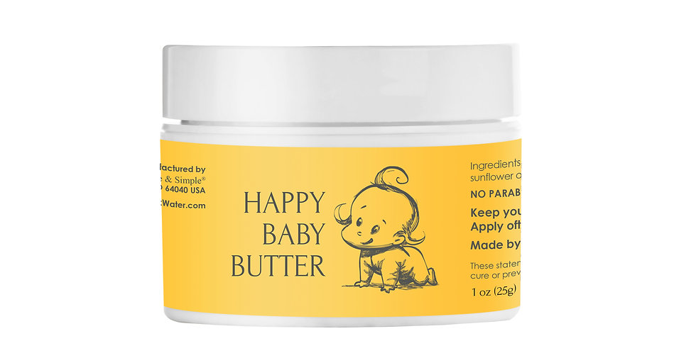 Happy Baby Butter 1 oz