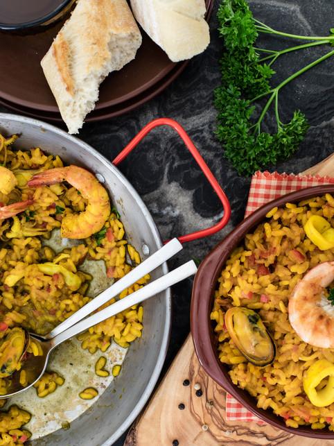 Spanish Paella-food photographer-washington dc