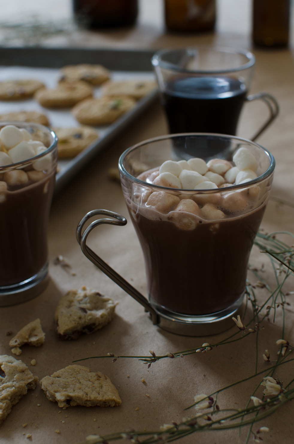 Good vibes and hot chocolate