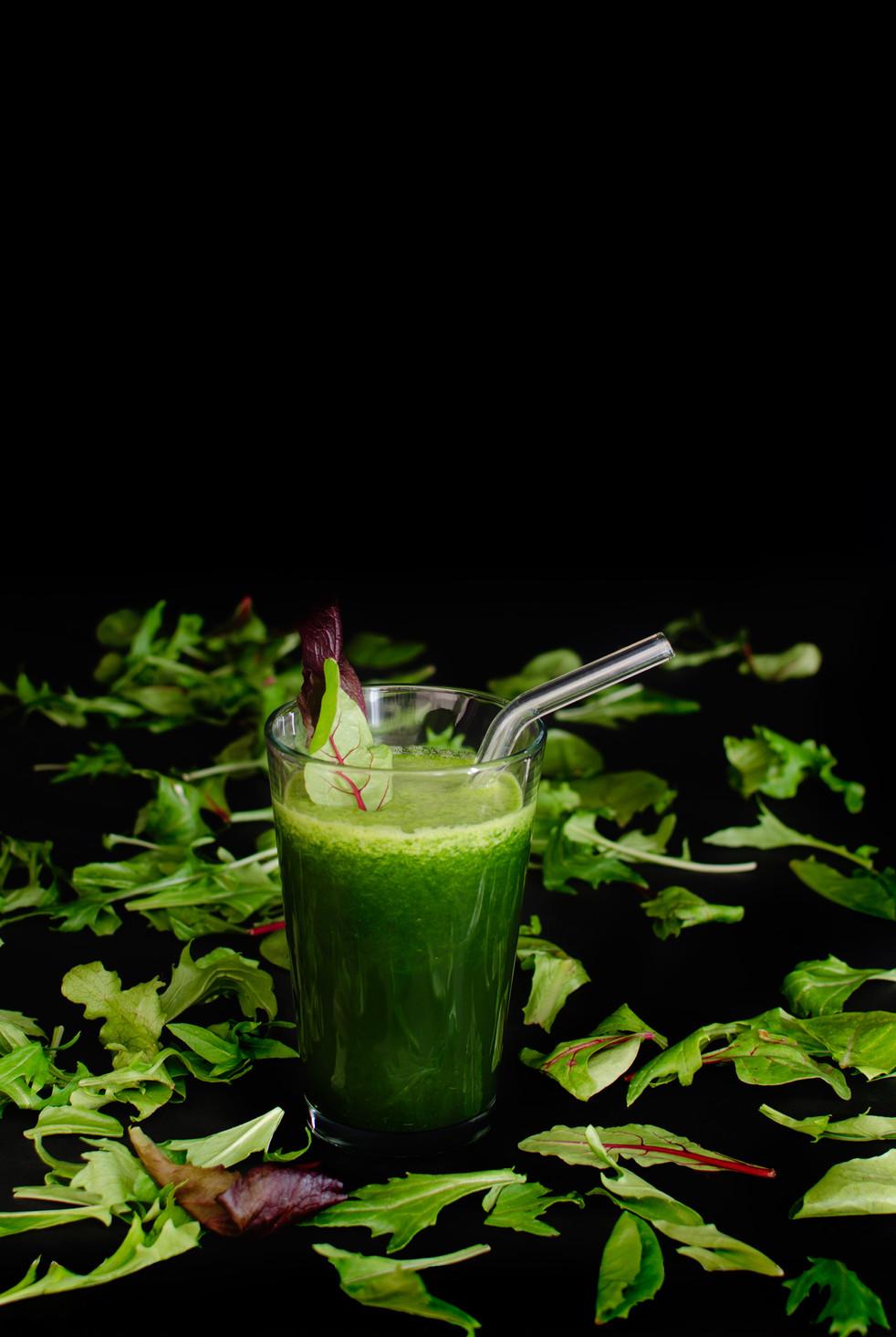 Green Gazpacho with Sea Salt