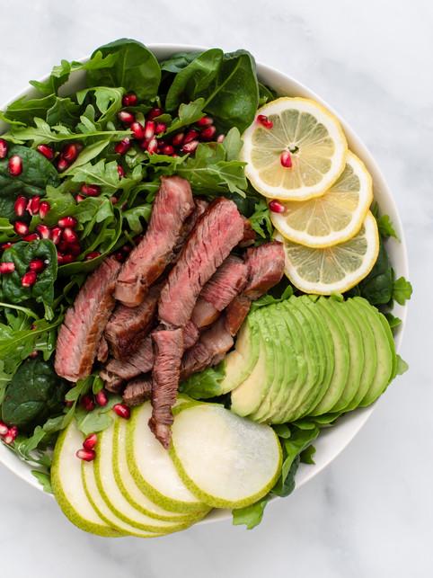 Paleo Salad-food photographer Washington DC- leti kugler