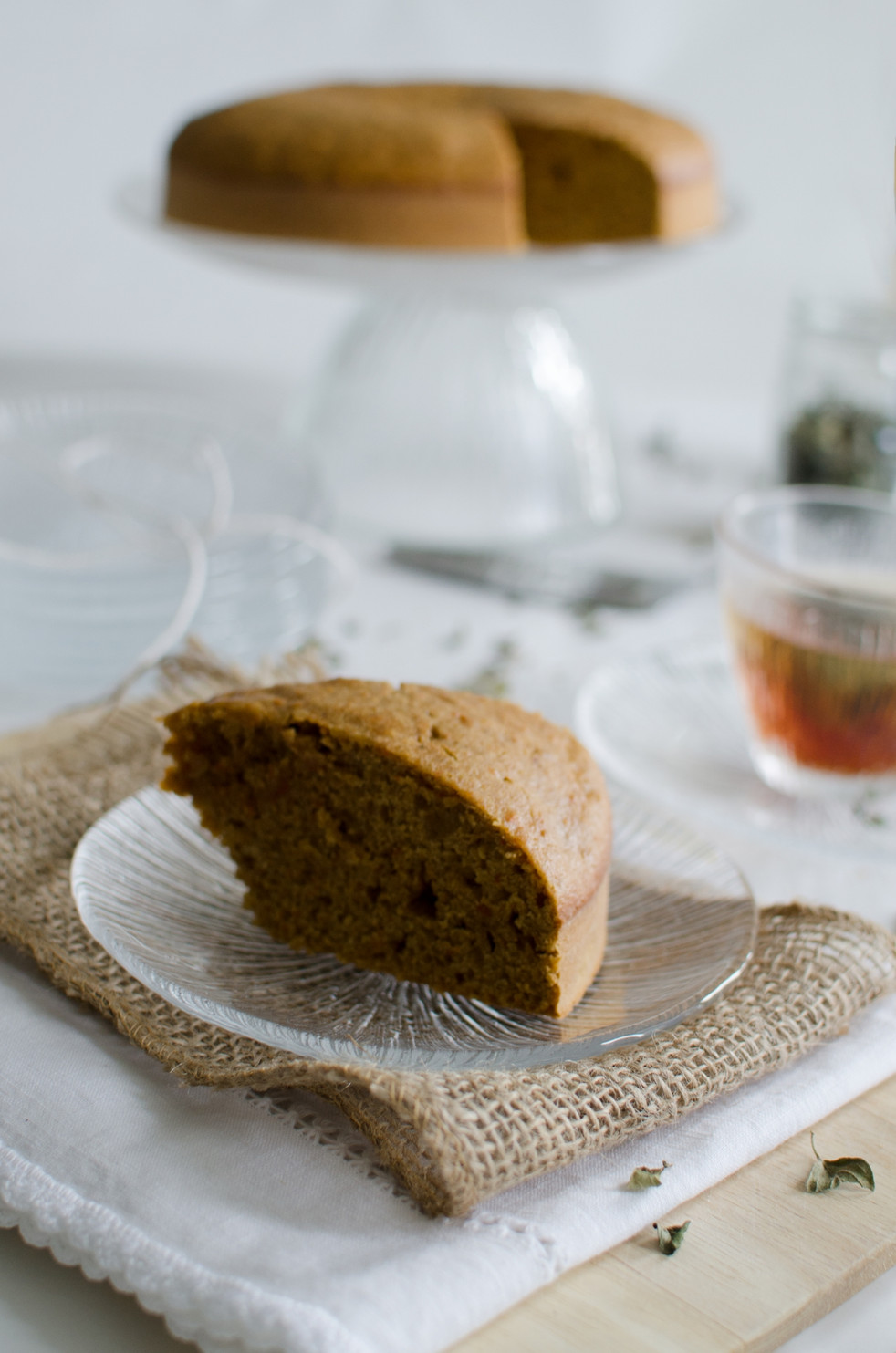 Double Baked Carrot Cake
