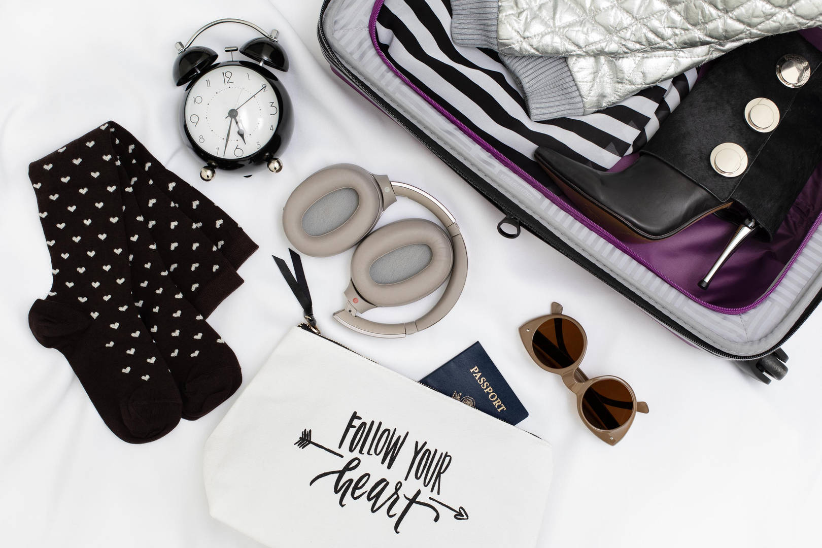 Flatlay for American Tourister