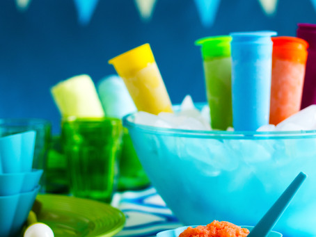 My summer popsicles Click and Boo!